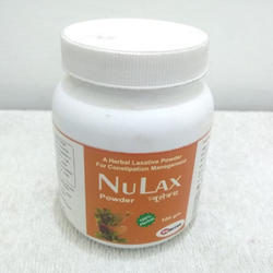 A Herbal Laxative Powder for Constipation Management