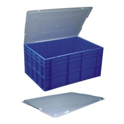 Plastic Crates With Lid