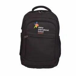 Black Promotional Backpack