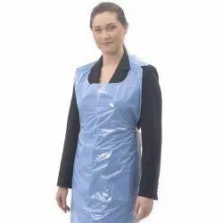 Sleeveless Plastic Medical Apron, for Hospital