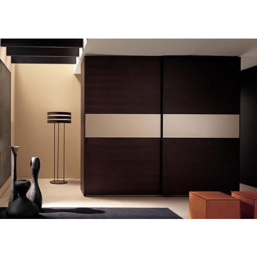 Modern Plywood Bedroom Wardrobe at Rs 1290 /square feet ...