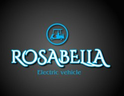 Rosabella electric golf  cart