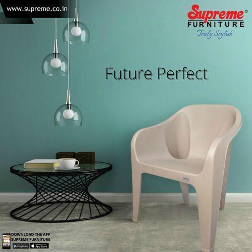 Green And Brown Supreme Futura Plastic Chair