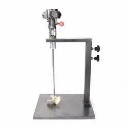 Motor Operating High Speed Stirrer
