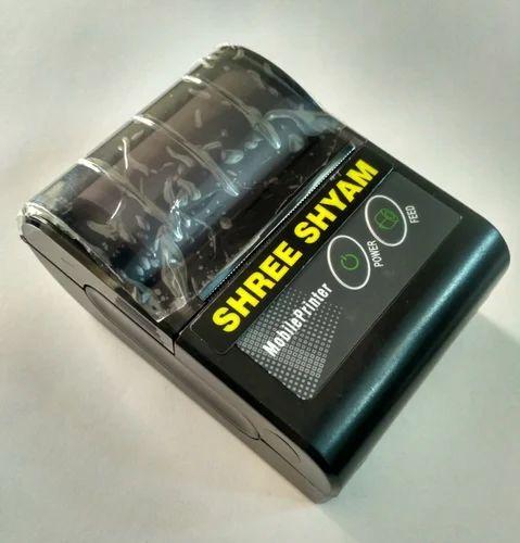 Shree Shyam Bluetooth Portable Thermal Printer, Sse-bp27