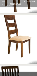Wooden Chair Modern Teak Dining Chair, No Of Legs: 4
