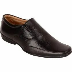 Casual Paragon Men Black Slip on Formal Shoes 9549
