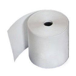 Plain White Thermal Paper Rolls, GSM: Less than 80 GSM