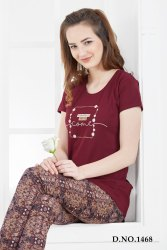 Full Length Cotton Ladies Night Dress, Size: M to 4xl, 25