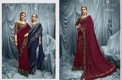 Vallabhi Pure Crape Silk Saree
