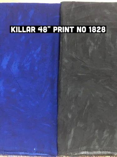 Vandan Silks Killer Fabrics Print, GSM: 100-150, Use: Kurtis and Top