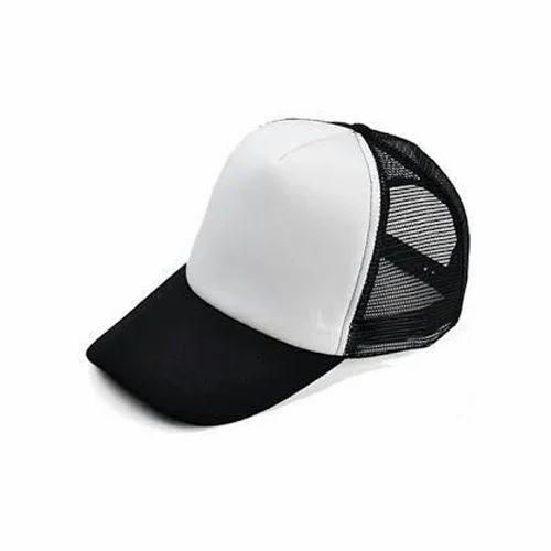 e6dfc7fa82b Black And White Mens Plain Cap