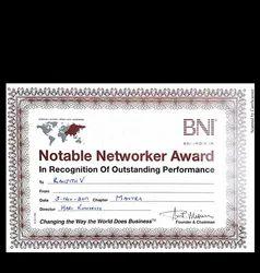 BNI Award