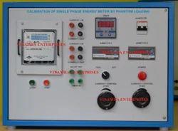 Calibration Of Single Phase Energy Meter By Phantom Loading