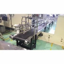 Belt Conveyor For Bag Filling Line