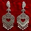 German Silver Earrings For Girls
