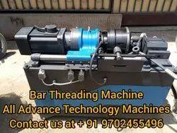 Automatic TMT Bar Threading Machine