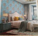 Vtc Pvc Printed Damask Wallpaper, Size: 22 Inch * 33 Fit, Thickness: 0. 3mm