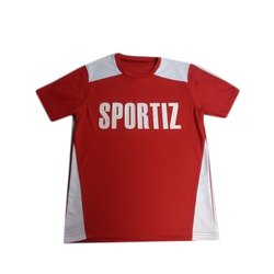 Casual Wear Half Sleeves Sports T-Shirt