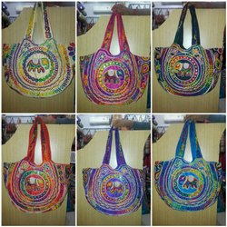 Embroidered Designer Cotton Bags