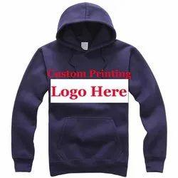 Woolen Casual Wear Men's Hooded Jacket