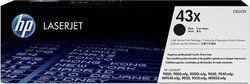 HP 43X High Yield Black Toner Cartridge (C8543X)