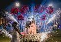 Lotus Bride Groom Entry Cart