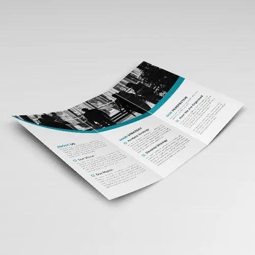 Paper Tri Fold Brochure