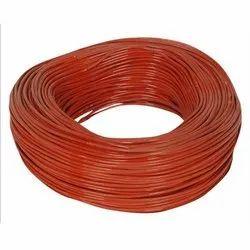Red Silicone Coated Fiberglass Sleeve