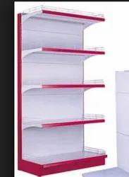 6 - 8 Feet Stainless Steel Display Racks, for Supermarket
