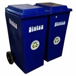 Sintex Plastic Wheeled Dustbin 240Ltr