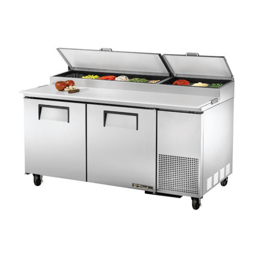 Stainless Steel Undercounter Refrigerator With Salads