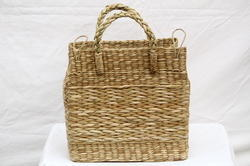 Sea Grass Picnic Basket 14 x 9 x 15 (Inch)