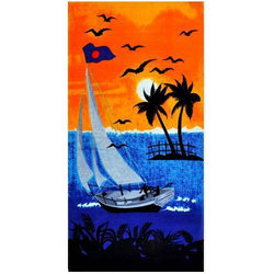 Solapur Terry Beach Printed Towel
