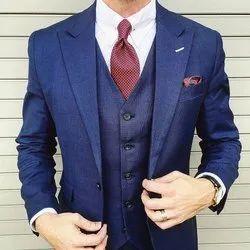 Three Piece Men Corporate Formal Suit