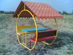 FRP Hut Play Equipment