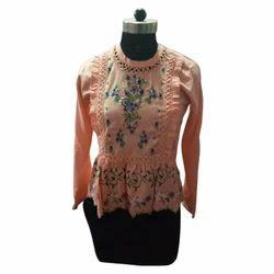Large And XL Full Sleeves Ladies Designer Top