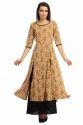 Cottinfab Women's Layered Long Dress
