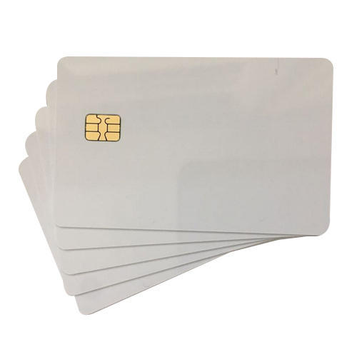 White Inkjet Printer Cards SLE4442 Chip