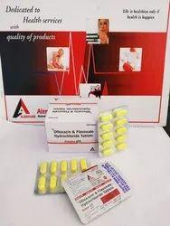 Ofloxacin 200mg   Flavoxate 200mg Tablet