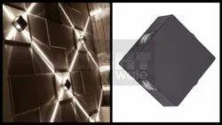 LED Warm White 4 Way Narrow Beam Outdoor Wall Light 12w, Input Voltage: 220V