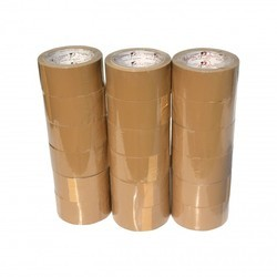 Bopp 20-30 M Brown Cello Tape, For Packing, Thickness: 35-90 Micron
