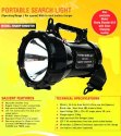 Halogen Security Light- Sharpshooter