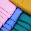 Cotton Poplin Plain Dyed Shirting Fabric