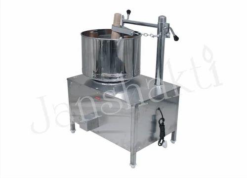 Janshakti Stainless Steel Commercial Wet Grinder, Warranty: 1 Year Motor