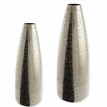 Aluminum Bottle Vase Decorative Vases Minsa Collection Moradabad