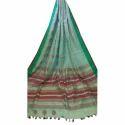 Womens Linen Saree