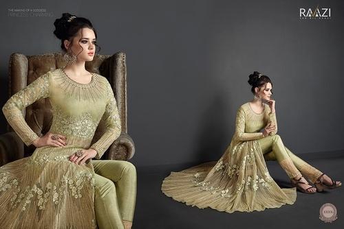 dd81e4490e New Designer Heavy Catalogue Rama Raazi Anarkali Salwar Suit at Rs ...