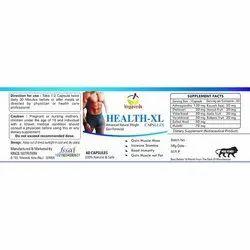 Health Xl Capsule, 6 Capsules
