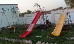 Children Playground Slide